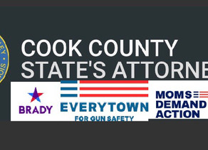Cook County State's Attorney (K. Foxx) enlisting gun control groups to assist in gun prosecutions?!?