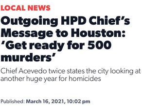 """MDA allied police chief admits his strategies are not working, """"get ready for 500 murders"""""""