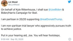 Rittenhouse defense attorneys preparing to sue Biden campaign for defamation