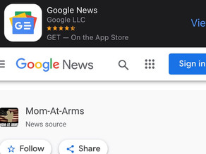 Facebook kills Mom-at-Arms page, but MAA now on Google News