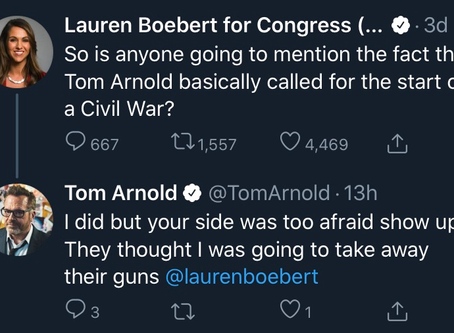 Whack job Everytown/Brady Campaign ally Tom Arnold wants a civil war