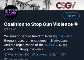 "Coalition to Stop Gun Violence adopts neo-Nazi ""fashwave"" theme"