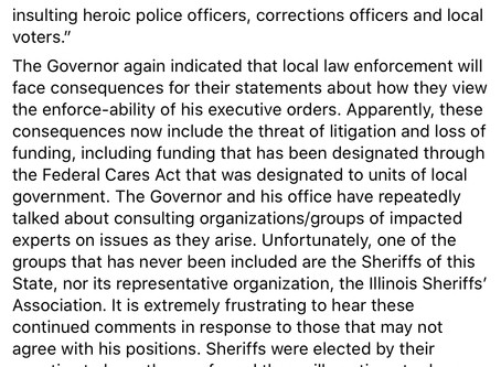 "Illinois Governor J.B. Pritzker to Law Enforcement: ""Obey me, or else!"""