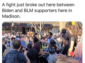 BLM gets into fight with Joe Biden supporters