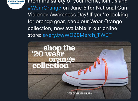 Everytown's Wear Orange day: Blood Money