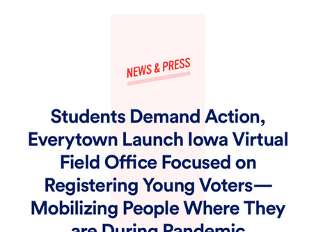Students Demand Action's first target? Iowa