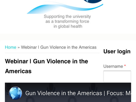 Agenda caught: using the current gun buying spree to blame the US for S. America violence?