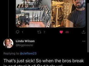 Gun grabber exposed her racist attitude towards legally armed blacks