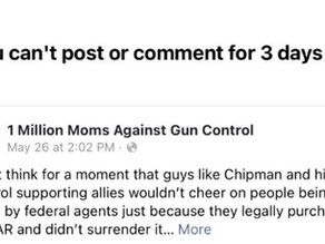 """Facebook says it's """"hate speech"""" to criticize David Chipman and the goals of gun control"""
