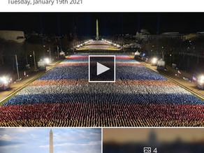 Biden's inauguration is just plain.....odd