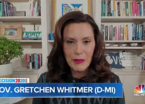 """Gov. Whitmer: """"Want all these lockdowns and restrictions to end? Elect Joe Biden"""""""