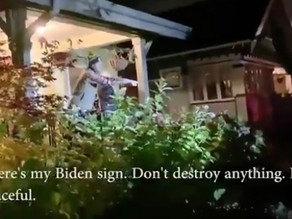 The mob turns to target Biden supporters at their homes