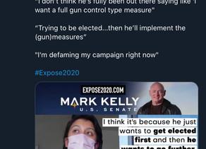 AZ gun grabbing senate candidate Mark Kelly gets nailed by Project Veritas