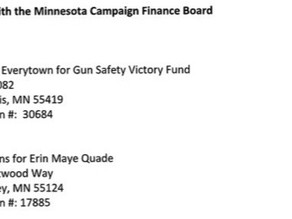 Yet another campaign finance complaint against Everytown For Gun Safety