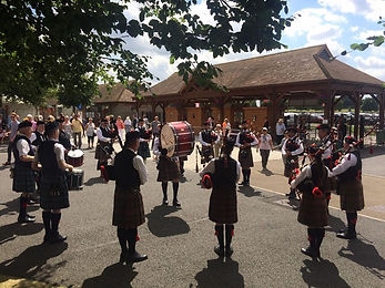 Cambridgeshire Pipe Band Band photo