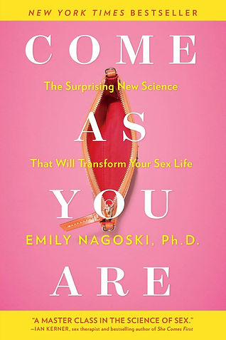 """come as you are: the surprising new science that will transform your sex life"" recommended by Ren Reed LPC- intern, LMFT- associate to explore science of sexuality, womens sexual normal desire"