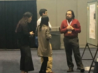 DGP student Nathan Henning won Monday's Presidential Poster Competition at ENDO2018!