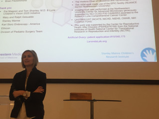 Dr. Laronda presents a Keynote Lecture at the BIOGEL conference in Germany