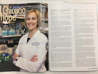 Dr. Laronda Featured in Alma Mater Magazine