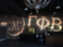 Wedding Lights Wedding GOBO Sorority DJ