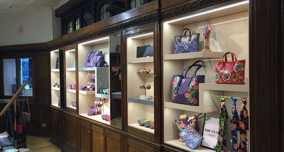Liberty London - Accessories Department