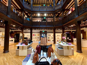 Very pleased with this finished refurbishment of the Liberty Accessories Department