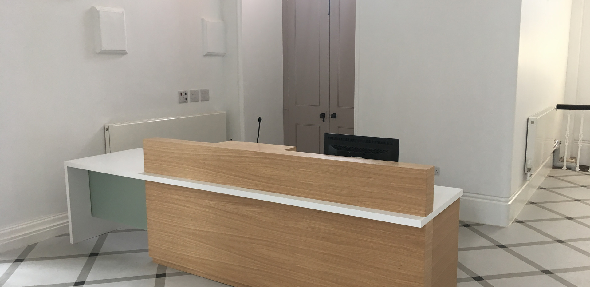 Netley Chapel Reception Desk