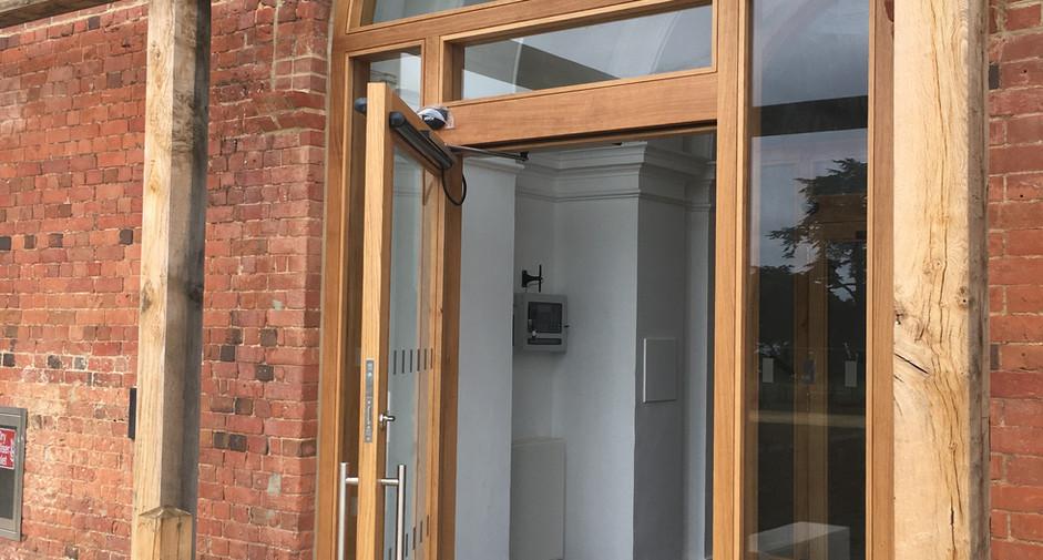 Netley Chapel Door