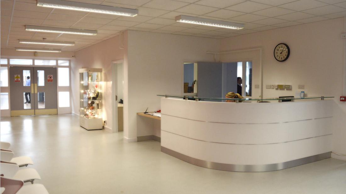 School Reception Desk