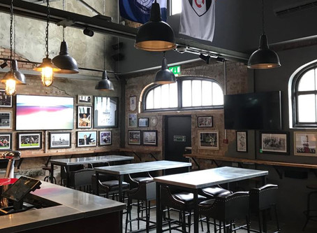 We loved working on this recent refurbishment for The Flag Bar @FulhamFC!
