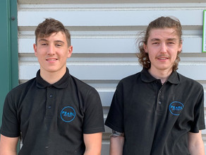 Two new apprentices join our team!
