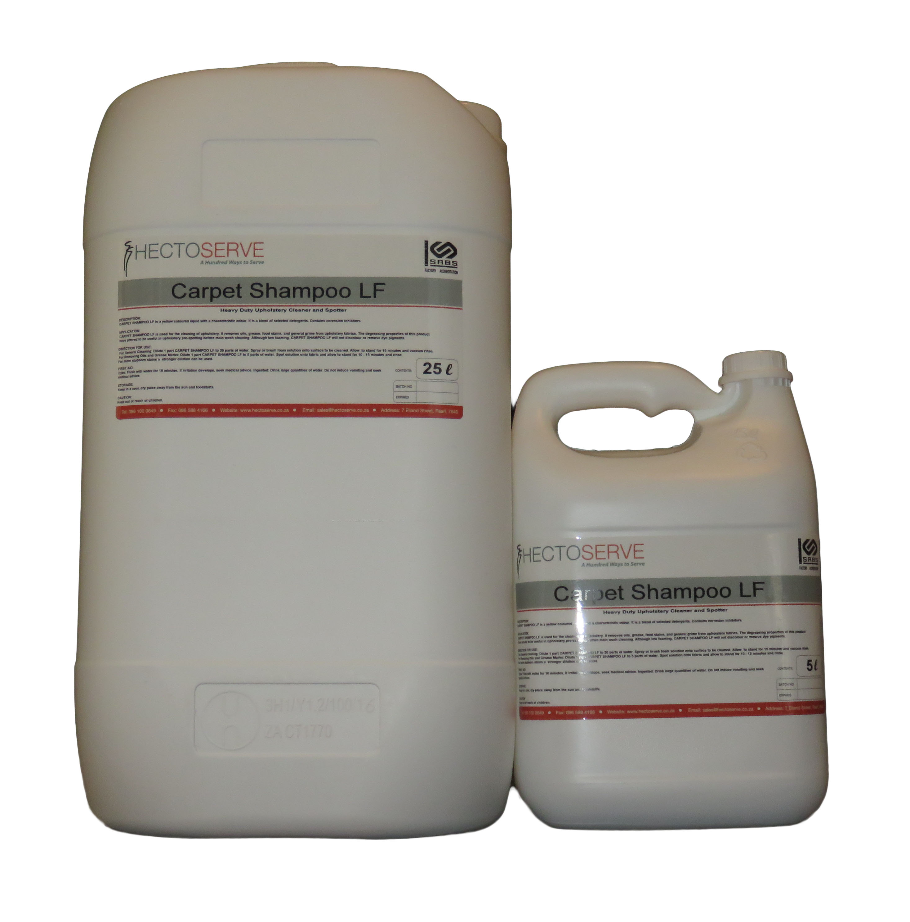 Hectoserve Carpet Shampoo Low Foam