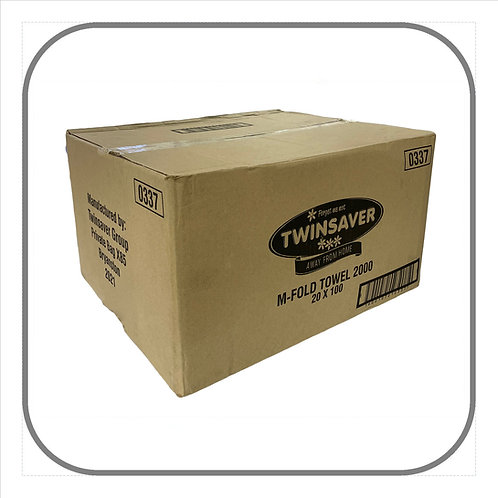 Twinsaver Multifold 2-ply Paper Towels