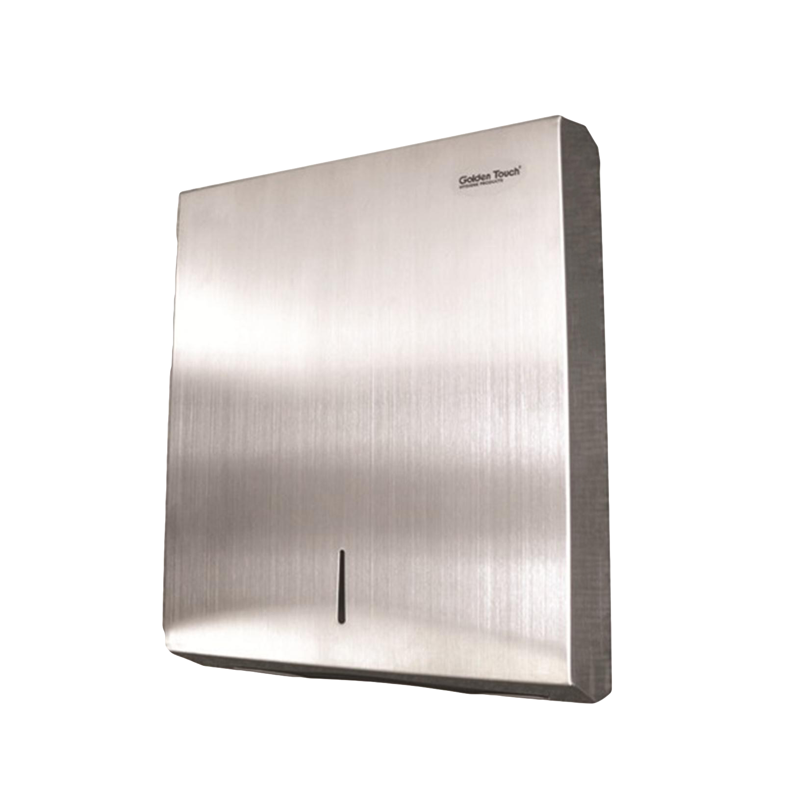 Hectoserve folded paper towel dispenser stainless steel