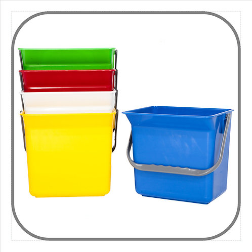 12,5L Heavy Duty Plastic Bucket