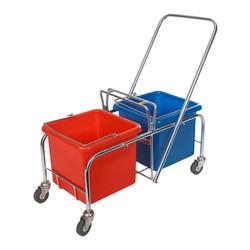 Rhino Double Bucket Trolley