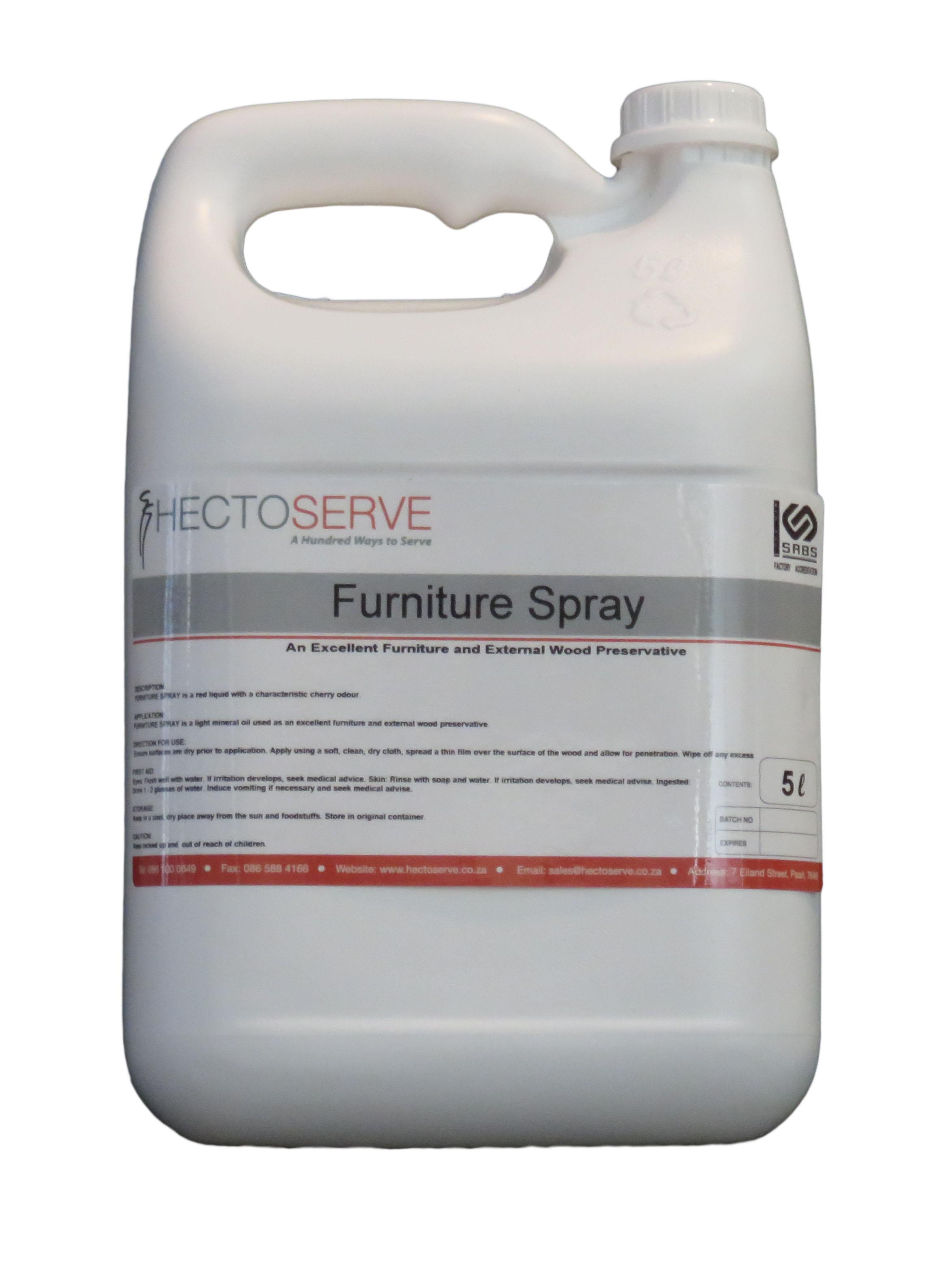 Hectoserve Furniture Liquid Spray