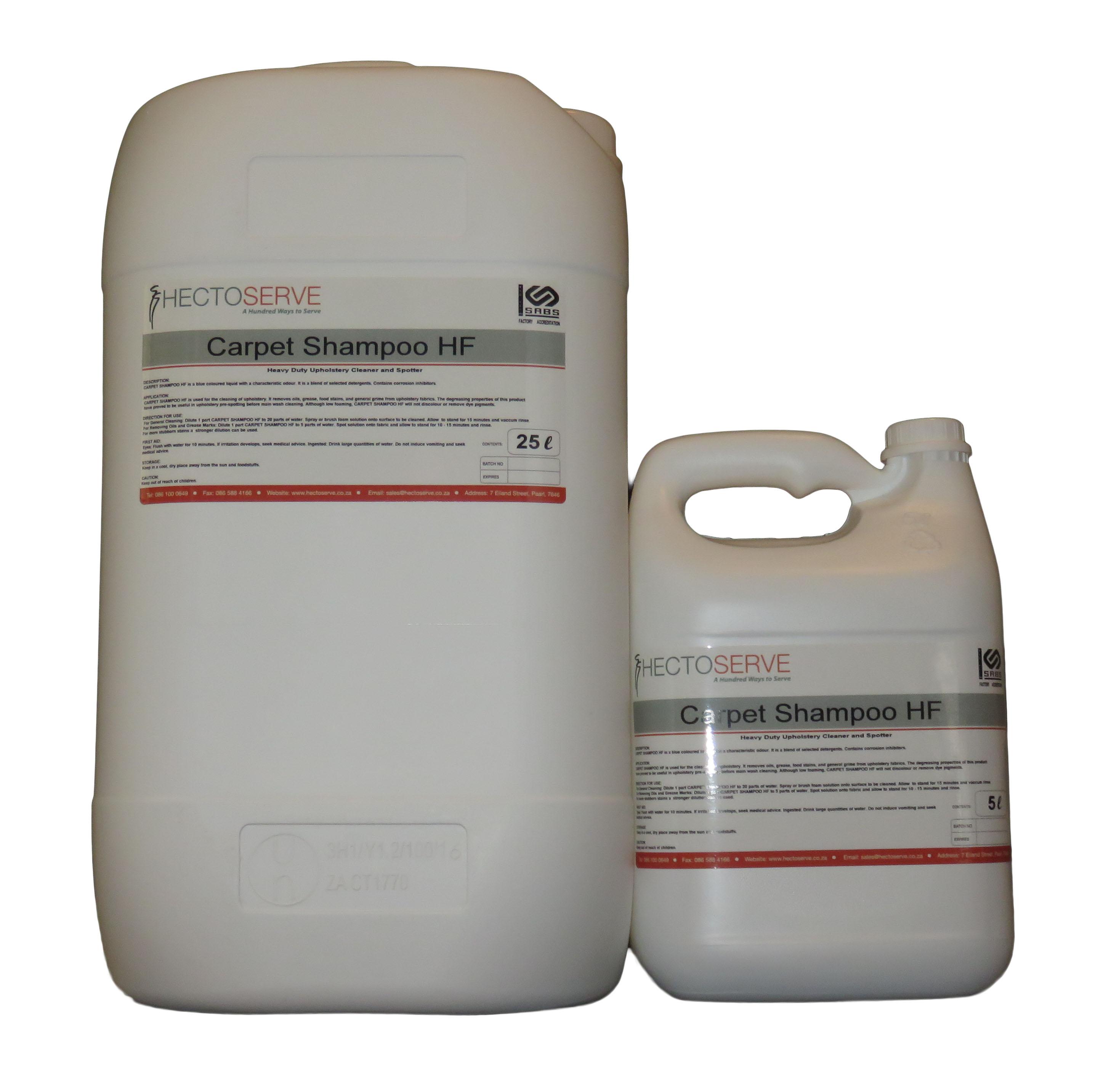 Hectoserve Carpet Shampoo High Foam