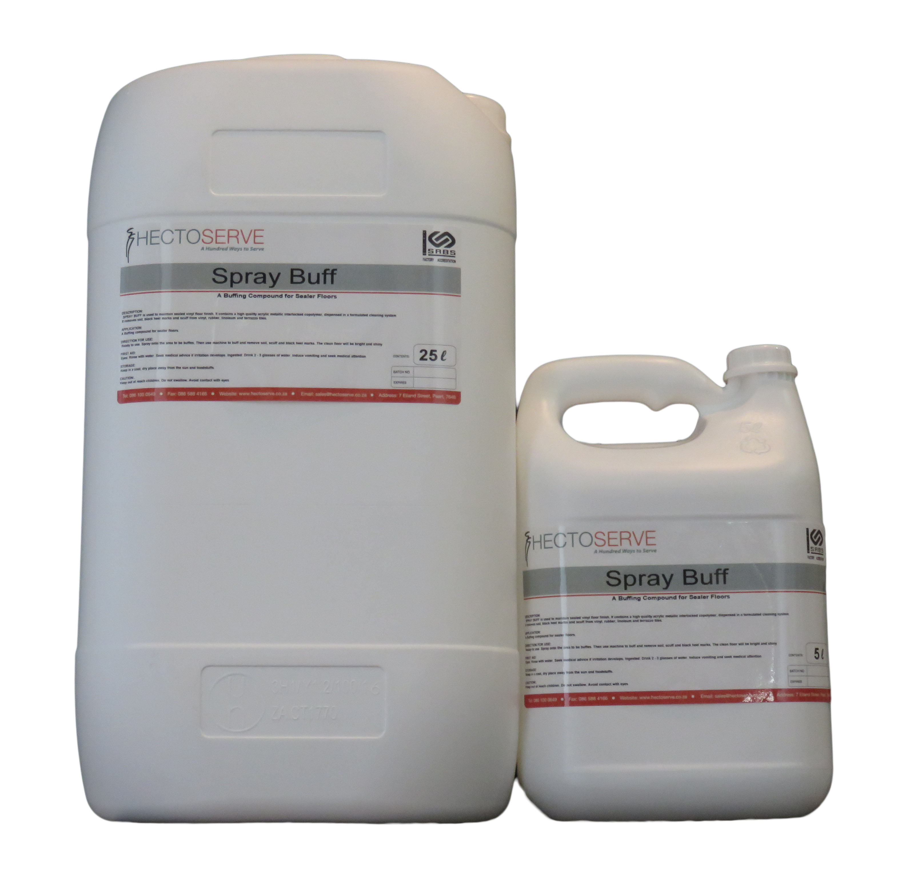 Hectoserve Spray Buff Floor Polymer