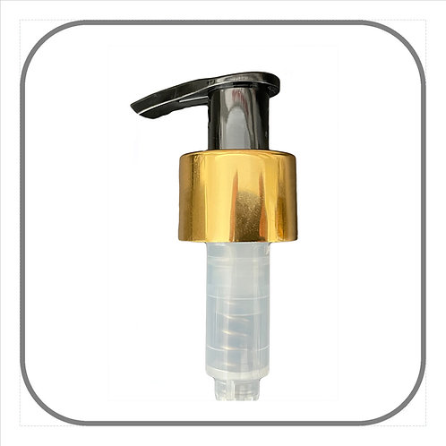 24mm Lotion Pump Gold