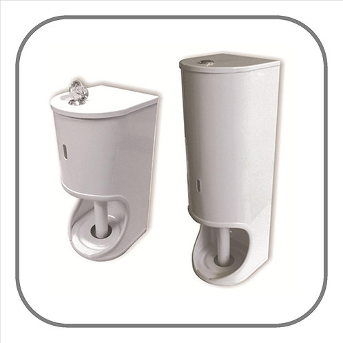Toilet Roll Dispensers - Mild Steel White