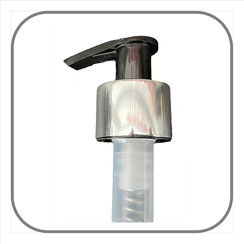 24mm Lotion Pump Silver