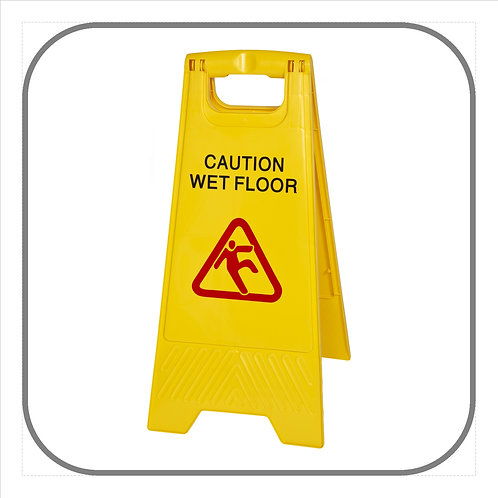 2 Piece Wet Floor Sign