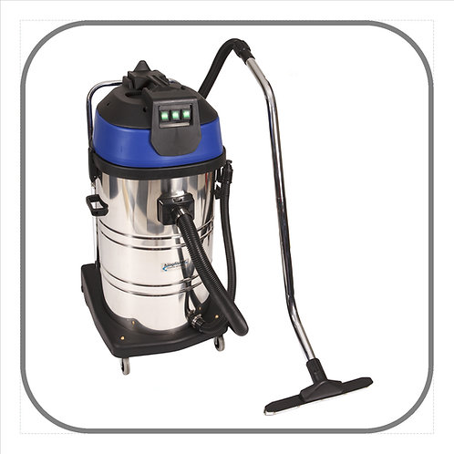 80L Stainless Steel Vacuum Cleaner