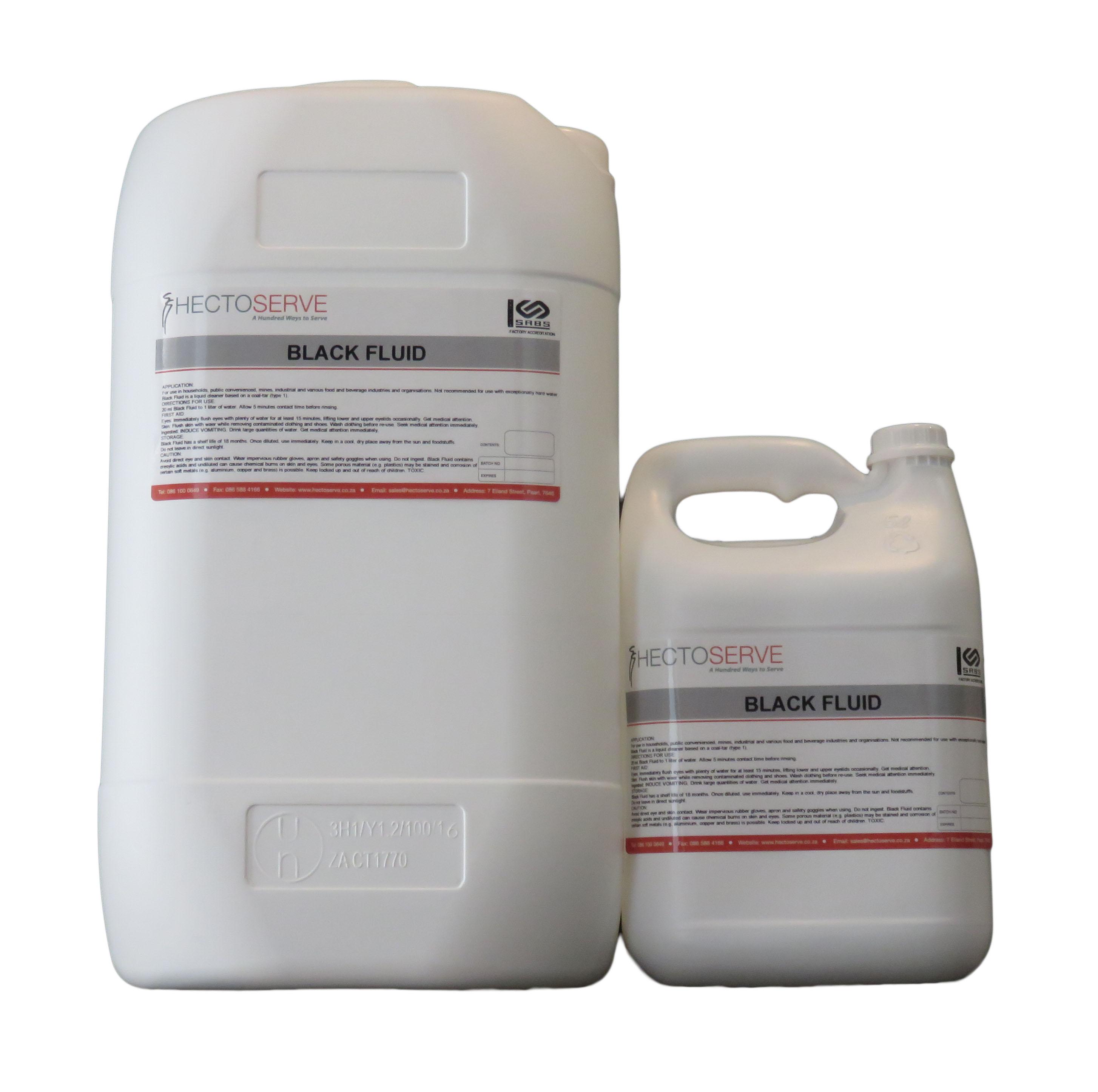 Hectoserve Black Fluid Disinfectant
