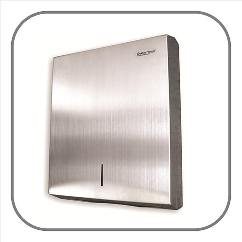 Folded Paper Towel Dispenser - S/Steel