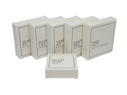 White Boxed Amenities