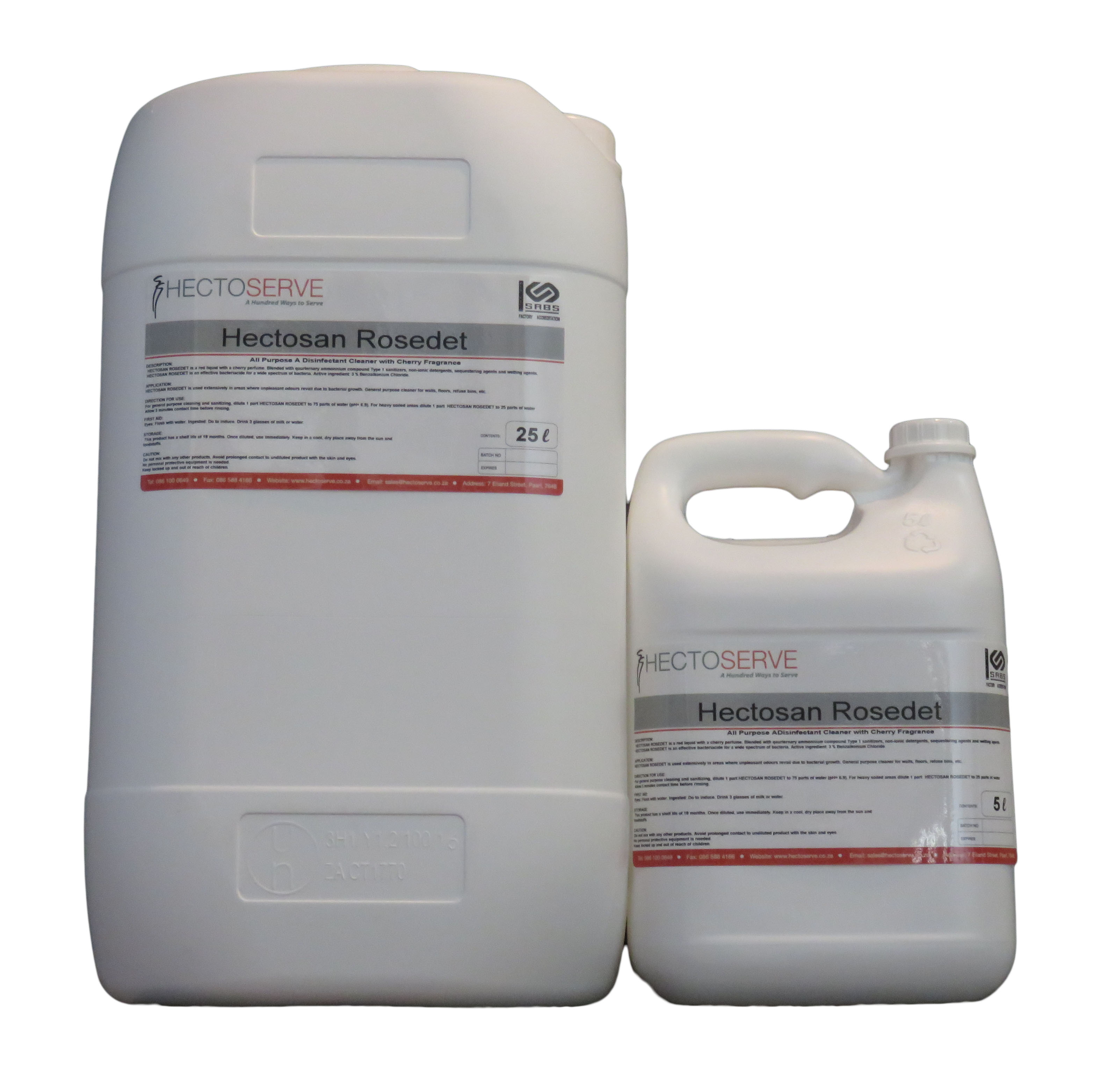 Hectosan Rosedet Disinfectant