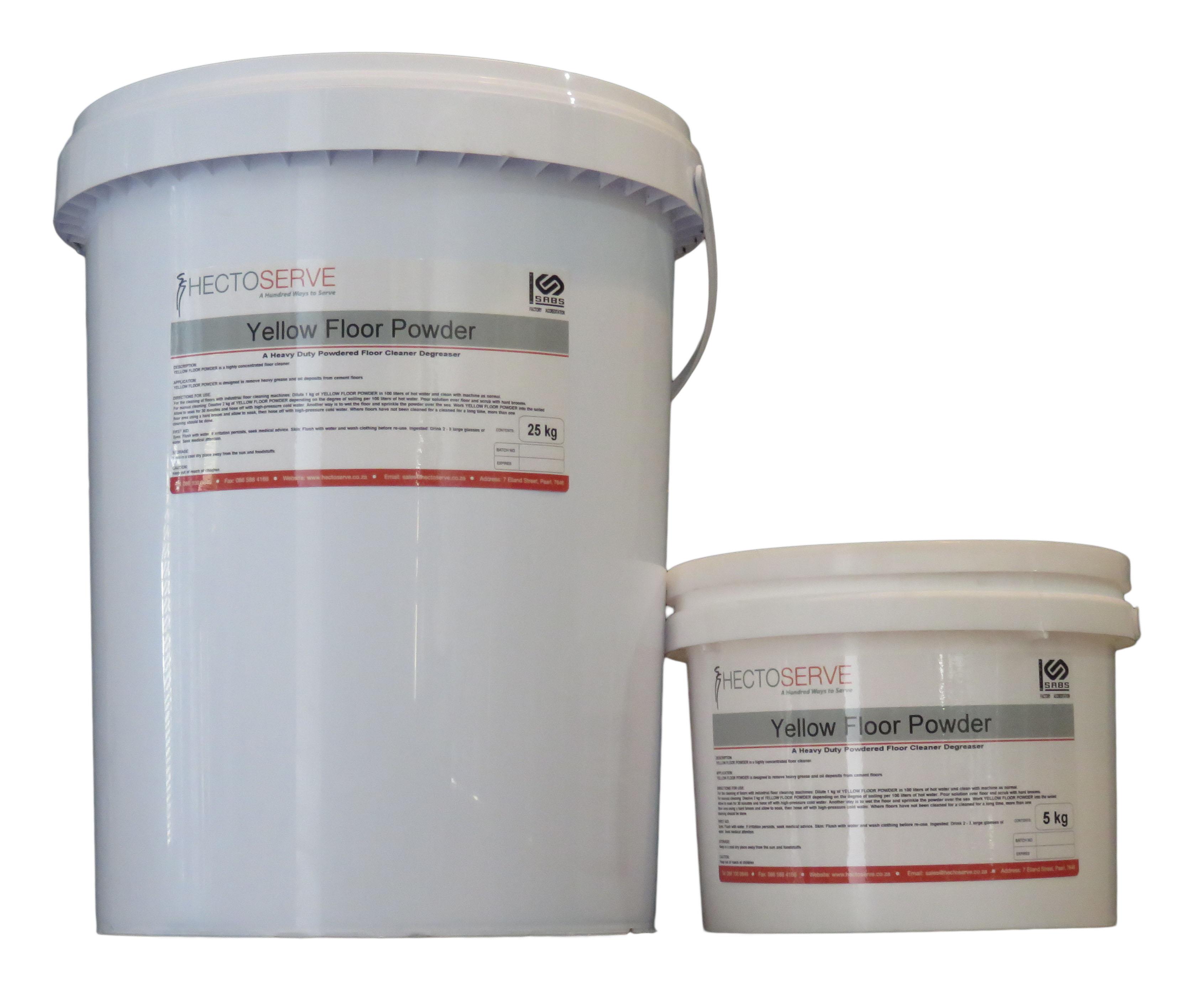 Hectoserve Yellow Floor Powder