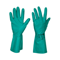 Hectoserve Green Nitrile Gloves